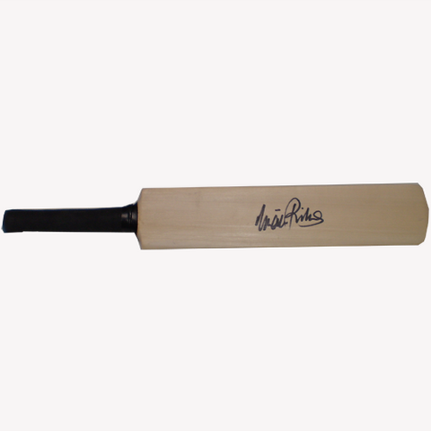 I.V.A. Richards Signed Mini Bat