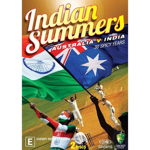 DVD - Indian Summers - Australia vs India