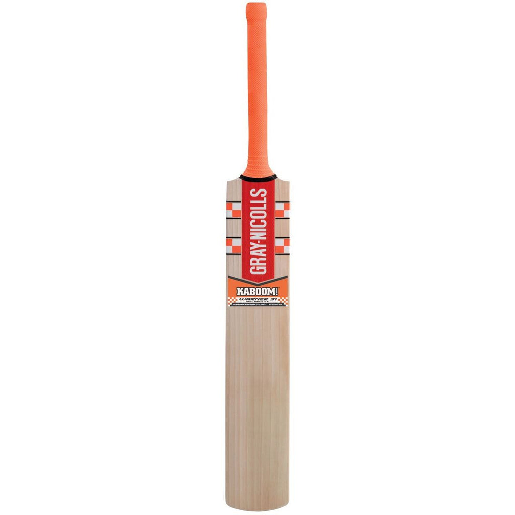Gray-Nicolls Kaboom Warner Test Ready Play Small Junior Bat