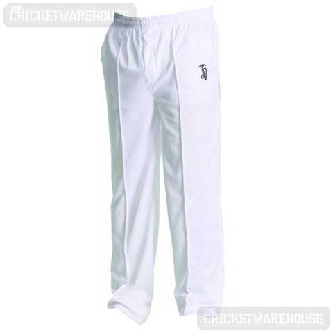 Kookaburra Players Junior Trousers - White
