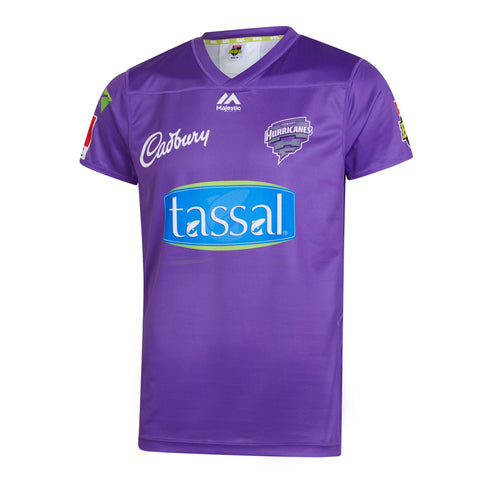 BBL - 2019 Hobart Hurricanes On Field Replica Shirt - Adult