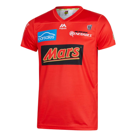 BBL - 2019 Melbourne Renegades On Field Replica Shirt - Adults