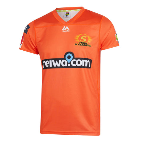 BBL - 2019 Perth Scorchers On Field Replica Shirt - Adults