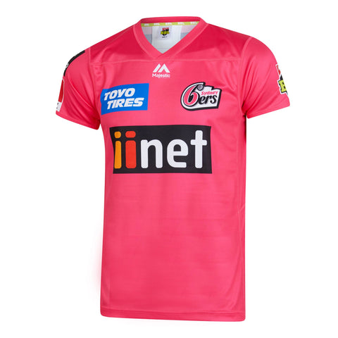 BBL - 2019 Sydney Sixers On Field Replica Shirt - Adults