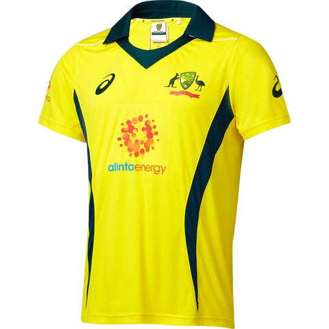 Australia Replica ODI Home Shirt - Junior