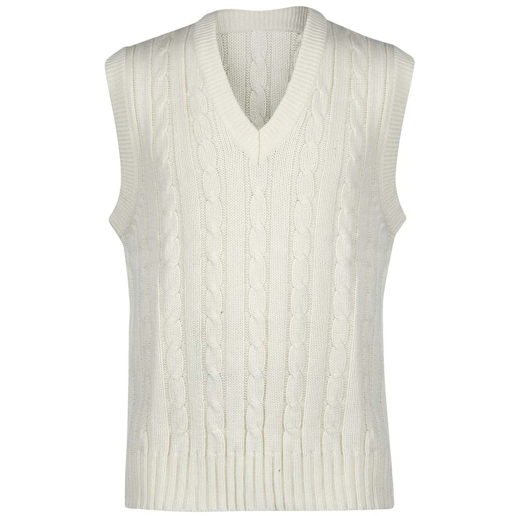 Gray-Nicolls Sleeveless Sweater Plain - Senior