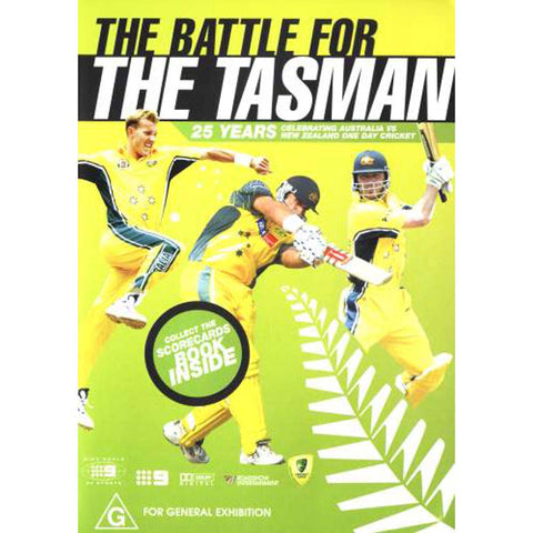 DVD - The Battle For The Tasman.