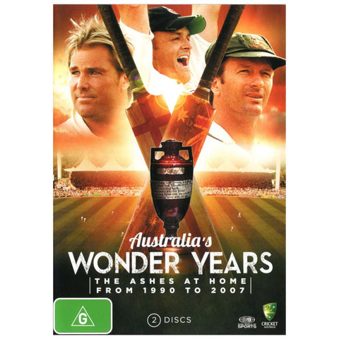 DVD - The Ashes: The Wonder Years
