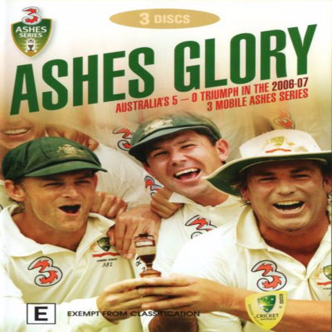 DVD - Ashes Glory