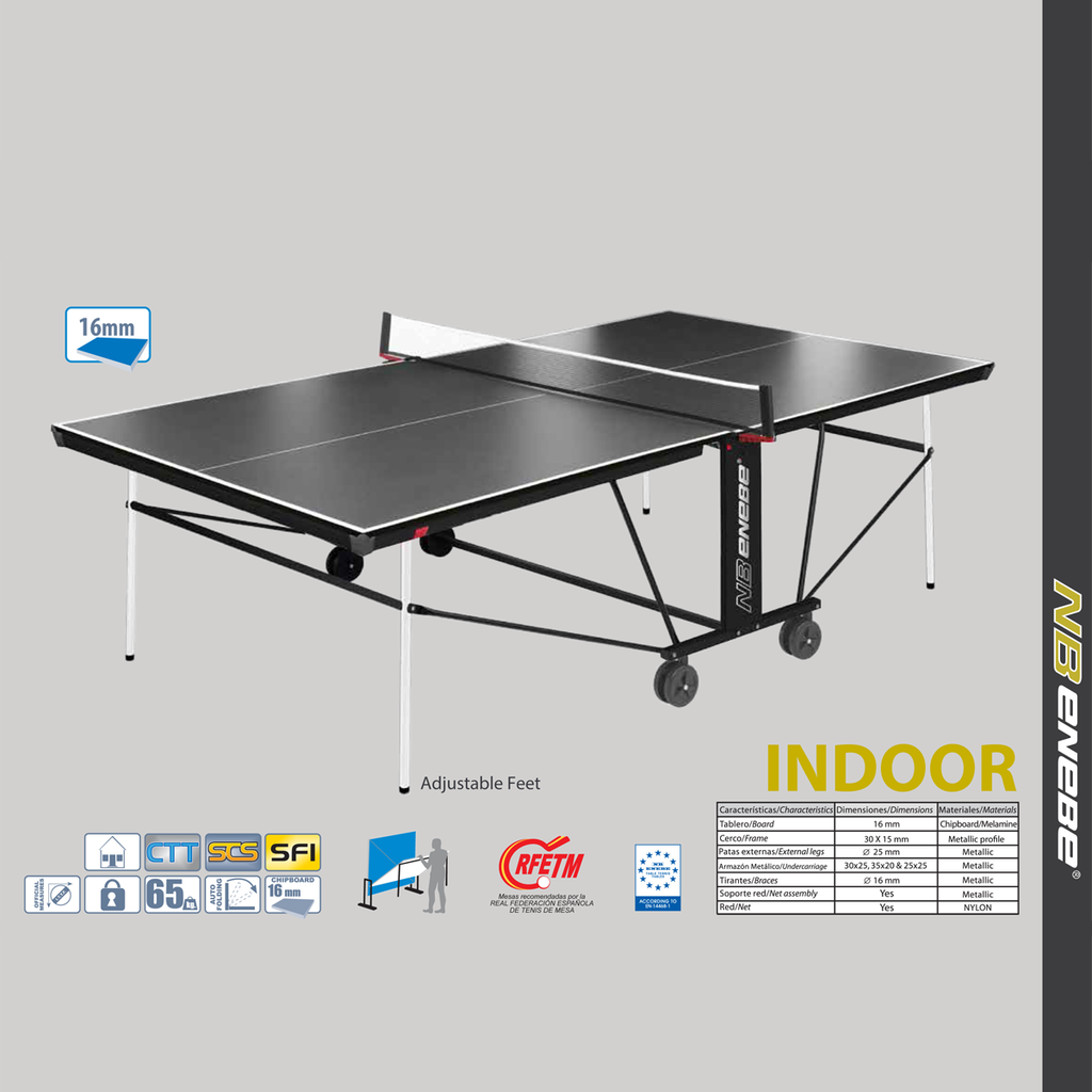 Enebe Game X2 Table Tennis Table   Indoor.