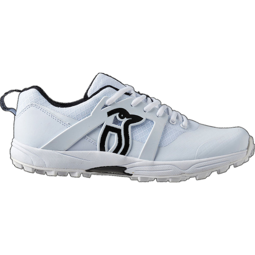 Kookaburra Pro 2000 Rubber Sole Shoe White/Black
