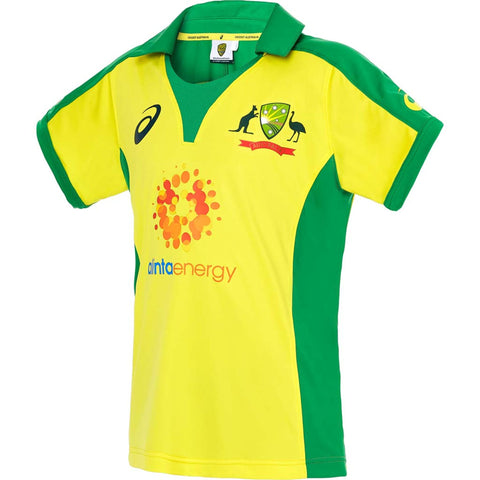 Australia Replica ODI Home Shirt Junior