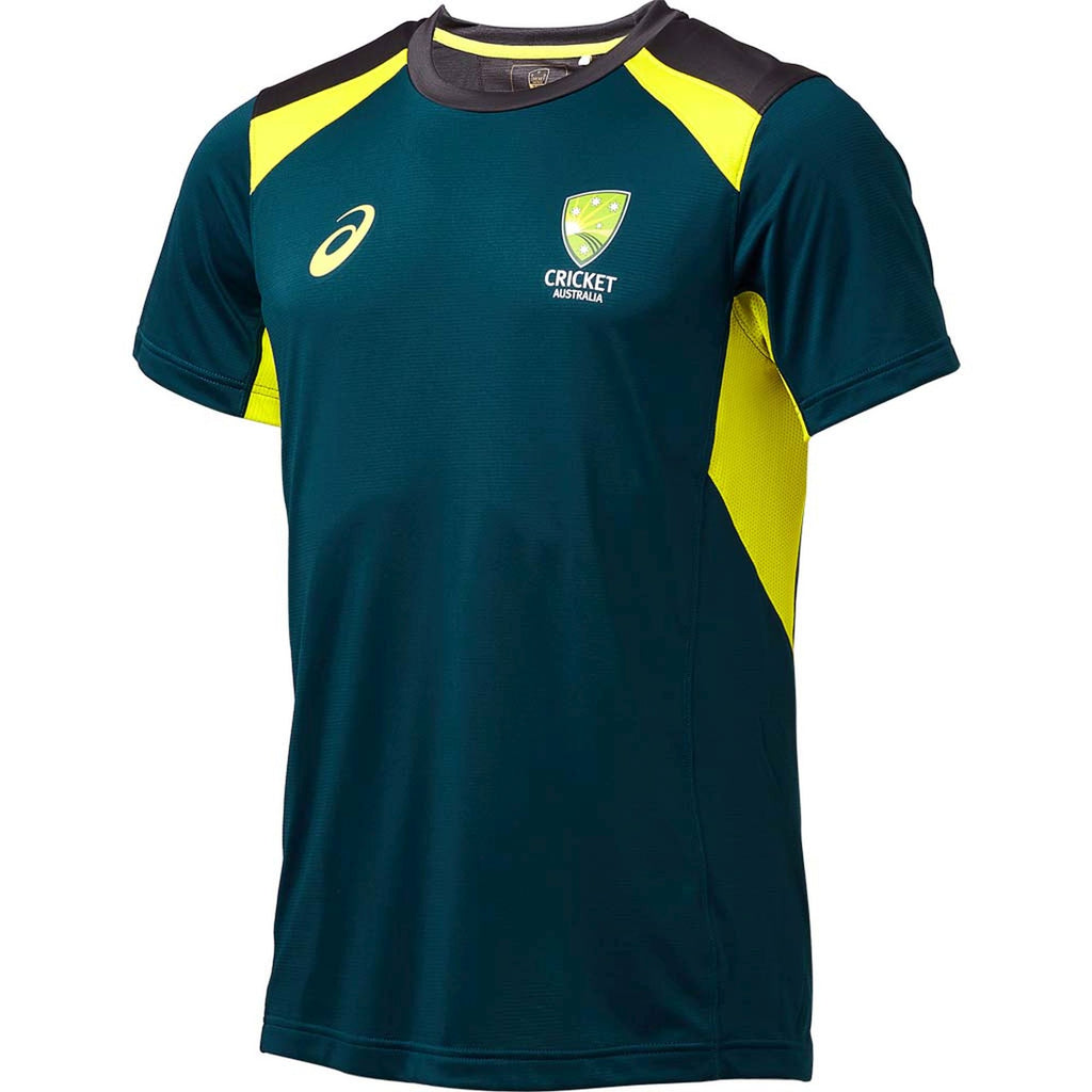 Cricket Australia Asics Replica Youth Training Tee