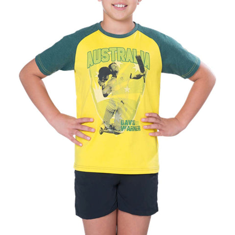 Cricket Australia Warner Junior T-Shirt