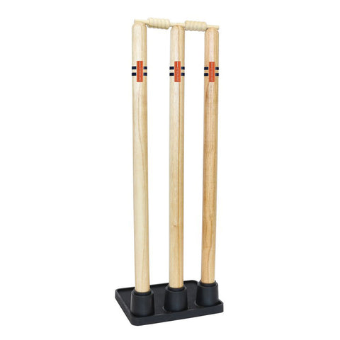 Gray-Nicolls Wooden Stumps with Rubber Base
