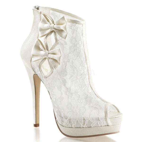 Fabulicious BELLA-28 Lace Ankle Boot