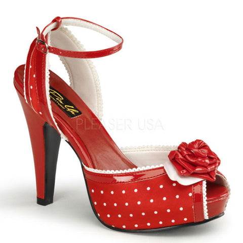 Pinup Couture BETTIE-06 Polka-Dot Sandal