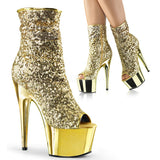 Pleaser ADORE-1008SQ Sequined Platform Boot