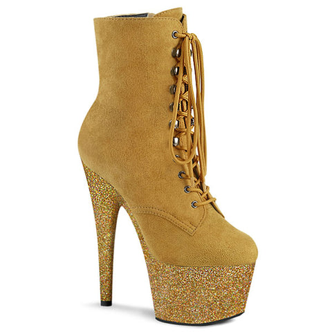Adore-1020FSMG Suede Platform Boots