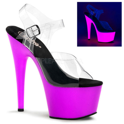 Pleaser ADORE-708UV Stiletto Heel Sandal
