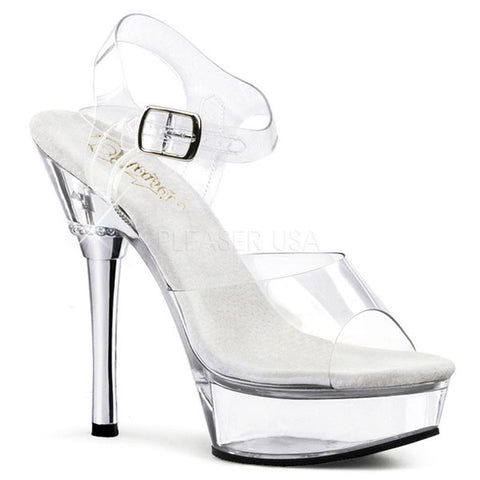 Pleaser ALLURE-608 Stiletto Heel Sandal