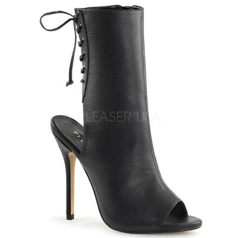 Amuse-1018 Lace-up Ankle Boots