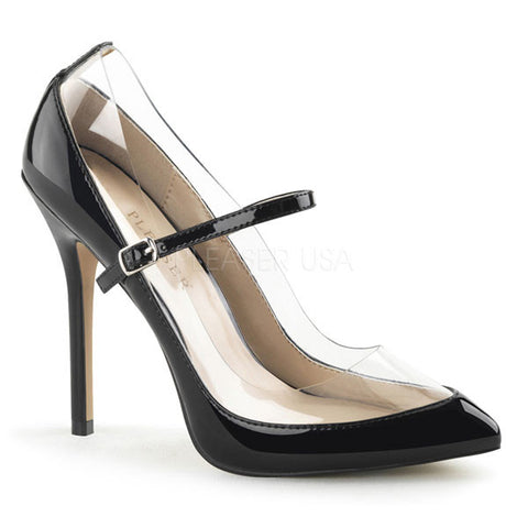 Pleaser AMUSE-21 Mary Jane Heels