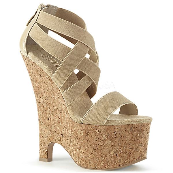 Beau-669 Wedge Platform Sandals