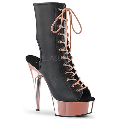 "Delight-1016 Lace-up 6"" Platform Boots"