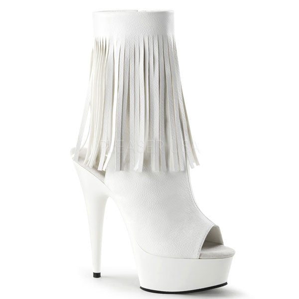 Pleaser DELIGHT-1019 Fringed Boot
