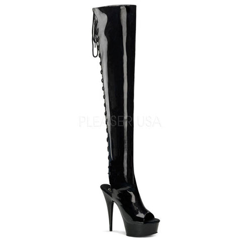 Pleaser DELIGHT-3017 Stiletto Heel Boot