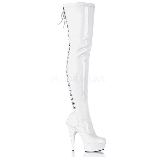 Pleaser DELIGHT-3063 Thigh High Boots