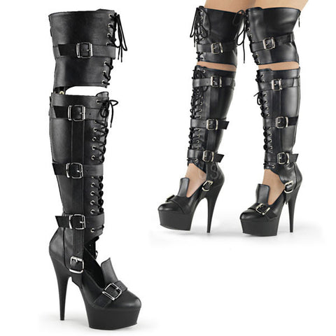 "DELIGHT-3068 6"" Thigh High Boot"