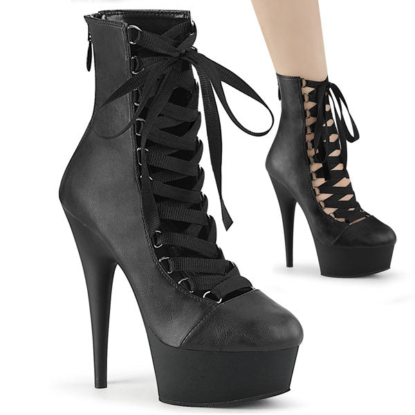 Delight-600-29 Lace-up Ankle Bootie