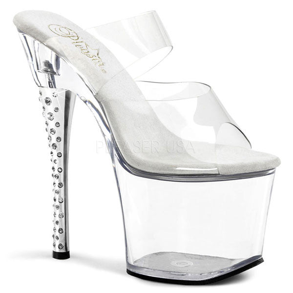Pleaser DIAMOND-702 Platform Slide Sandal