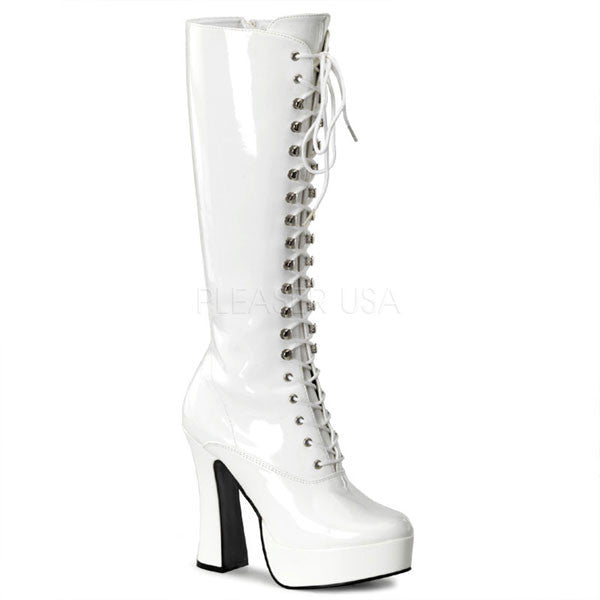 Pleaser ELECTRA-2020 Lace-up Platform Boots