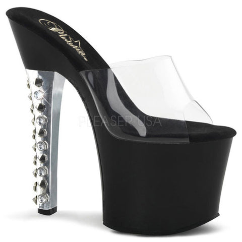 Pleaser FEARLESS-701 Spiked Platform Slide