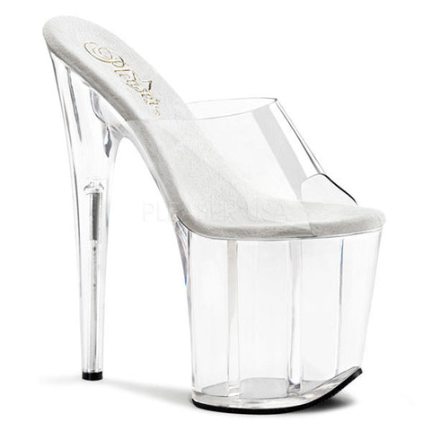 Pleaser FLAMINGO-801 Clear Platform Slide