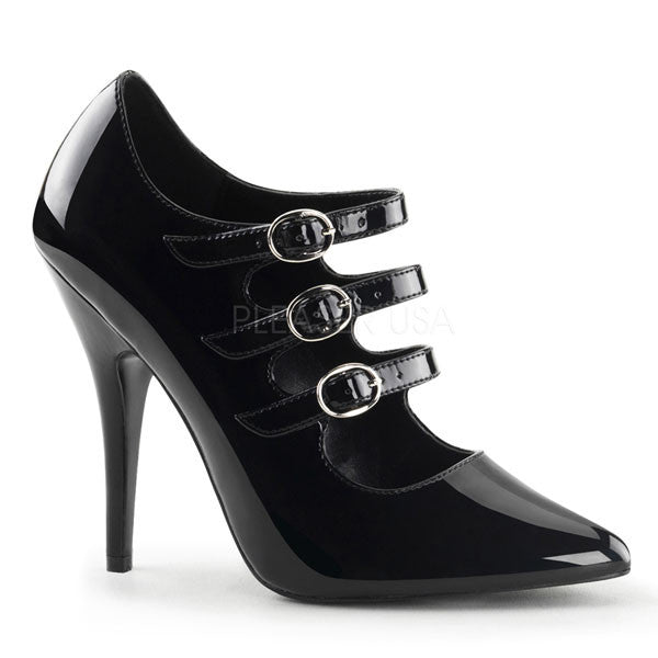 Seduce-453 Stiletto Heel Pumps