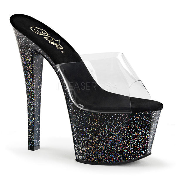 Pleaser SKY-301MG Stiletto Heel Sandals