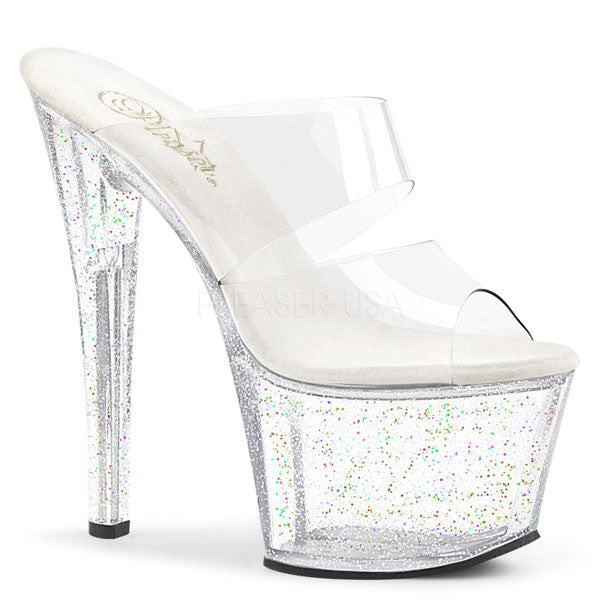 "7"" High Heel Platform Slide"