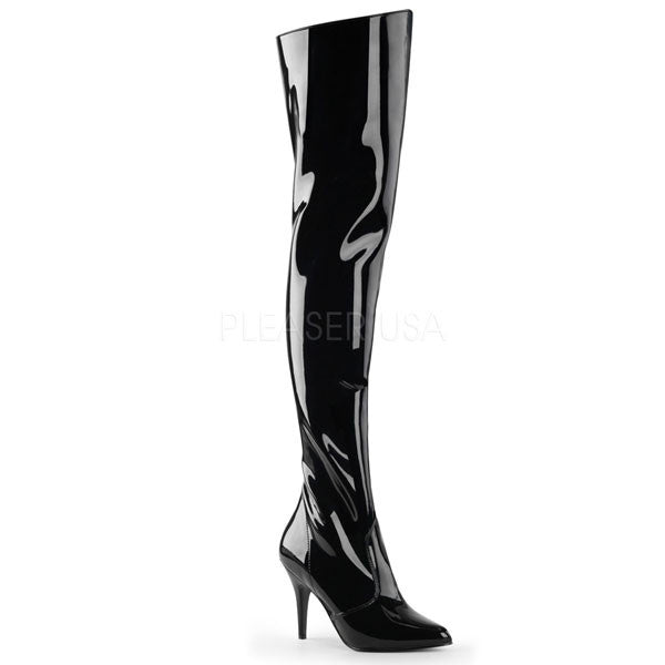 Pleaser VANITY-3010 Thigh High Boots