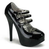 TEEZE-05 Stiletto Heel Platform Pump
