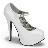 TEEZE-07 Mary Jane Platform Pump