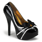 TEEZE-14 Stiletto Heel Platform Pump