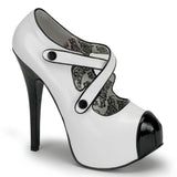 TEEZE-23 Stiletto Heel Platform Pump