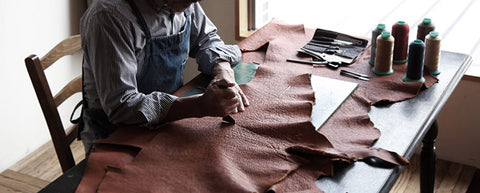 handmade leather studio