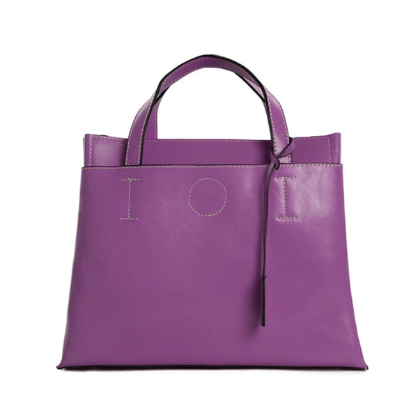 Flash Sale Full Grain Leather Women Handbags, Fashion Satchel Bag C106 - ROCKCOWLEATHERSTUDIO