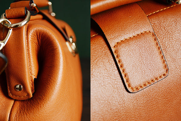724d1f6d3527f ... High Fashion Vegetable Tanned Leather Doctor Bag