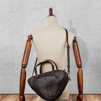 Women Stylish Handbag Vintage Full Grain Leather Shoulder Bag Ladies Messenger Bag YD8258